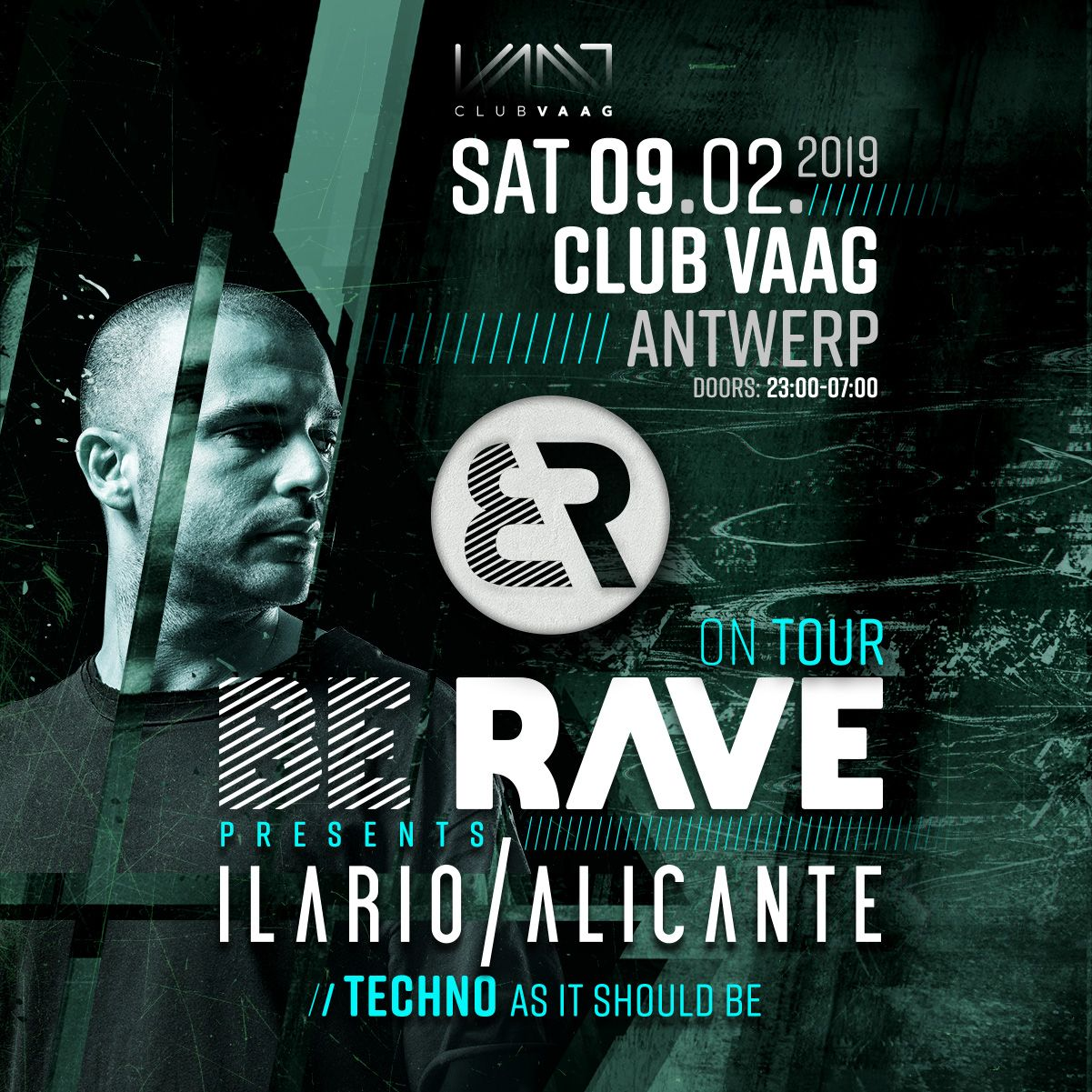 New party anncounced: Be Rave invites Ilario Alicante
