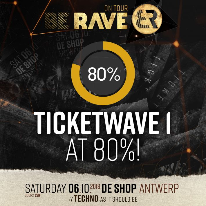 ​Ticket Alert! 80% Of wave 1 had already been sold