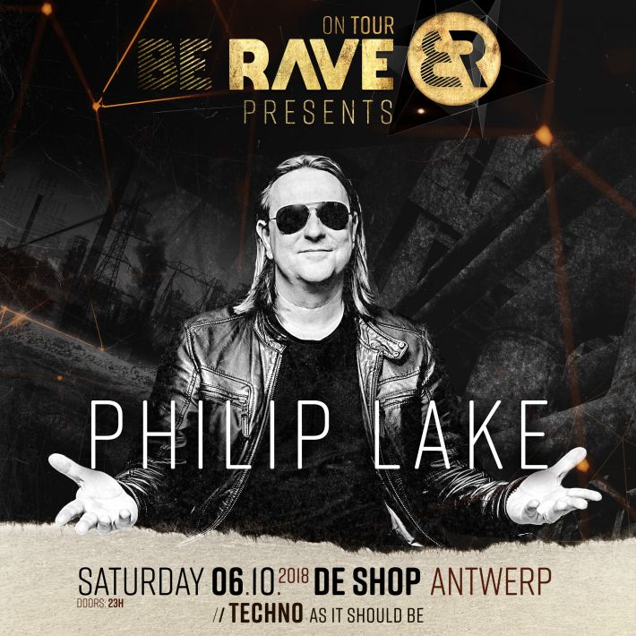 Philip Lake is our 3rd dj we're announcing...