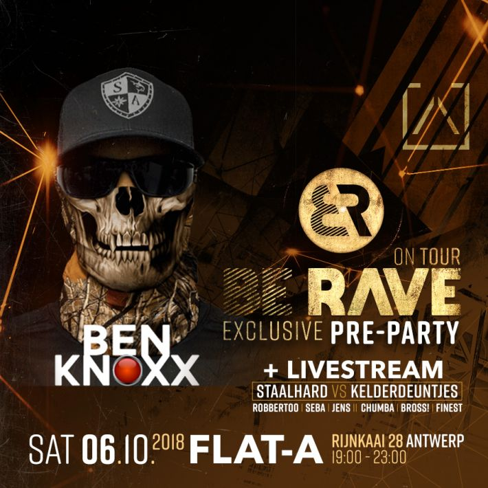 Ben Knoxx will be joining our Pre-Party at Flat A