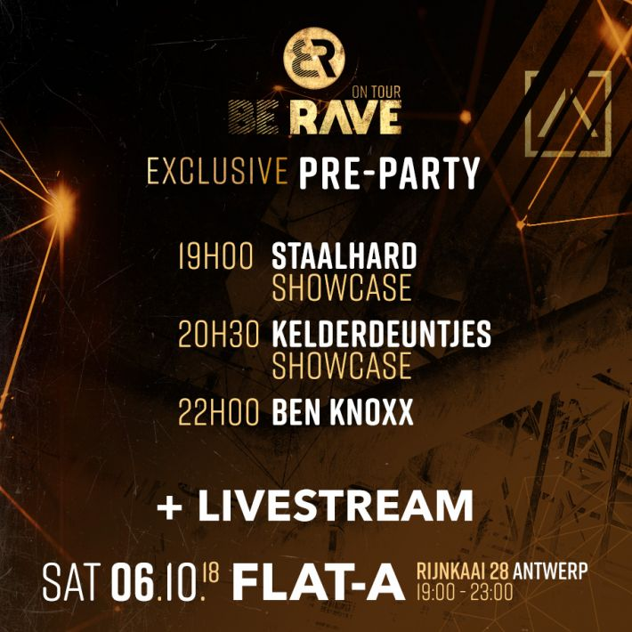 Check the timetable for our Pre-party this Saturday