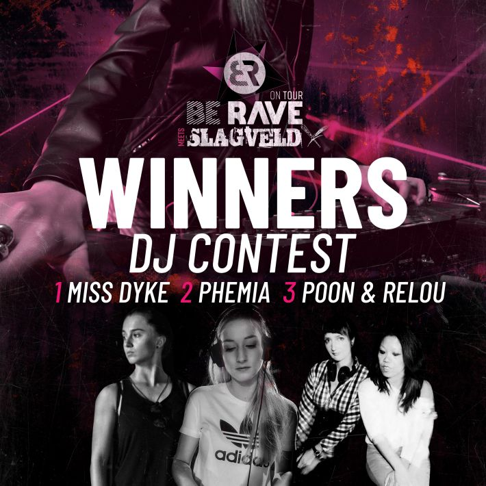 The winners of the DJ Contest