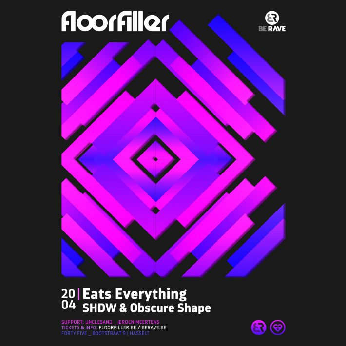 Next event: Be Rave & Floorfiller present Eats Everything